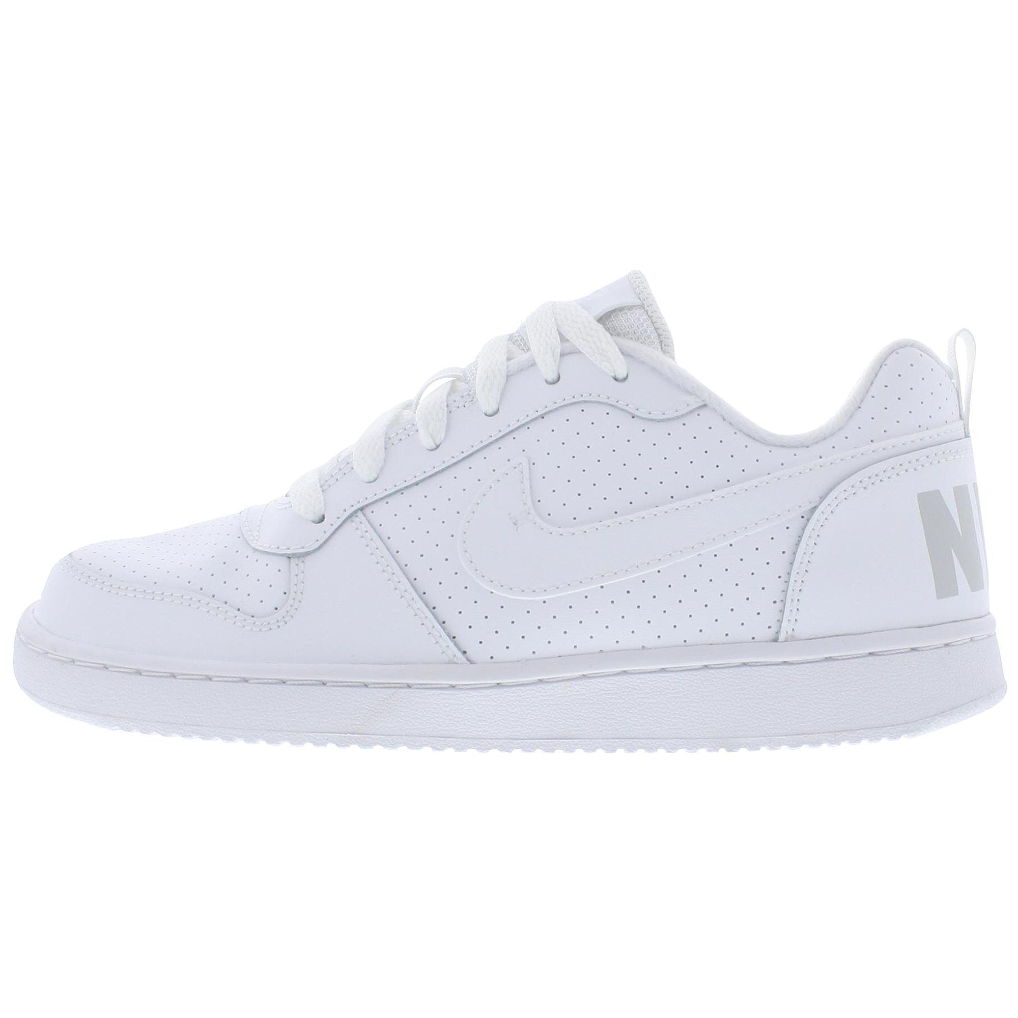Nike Court Borough Low (Gs) Beyaz Kadın Sneaker