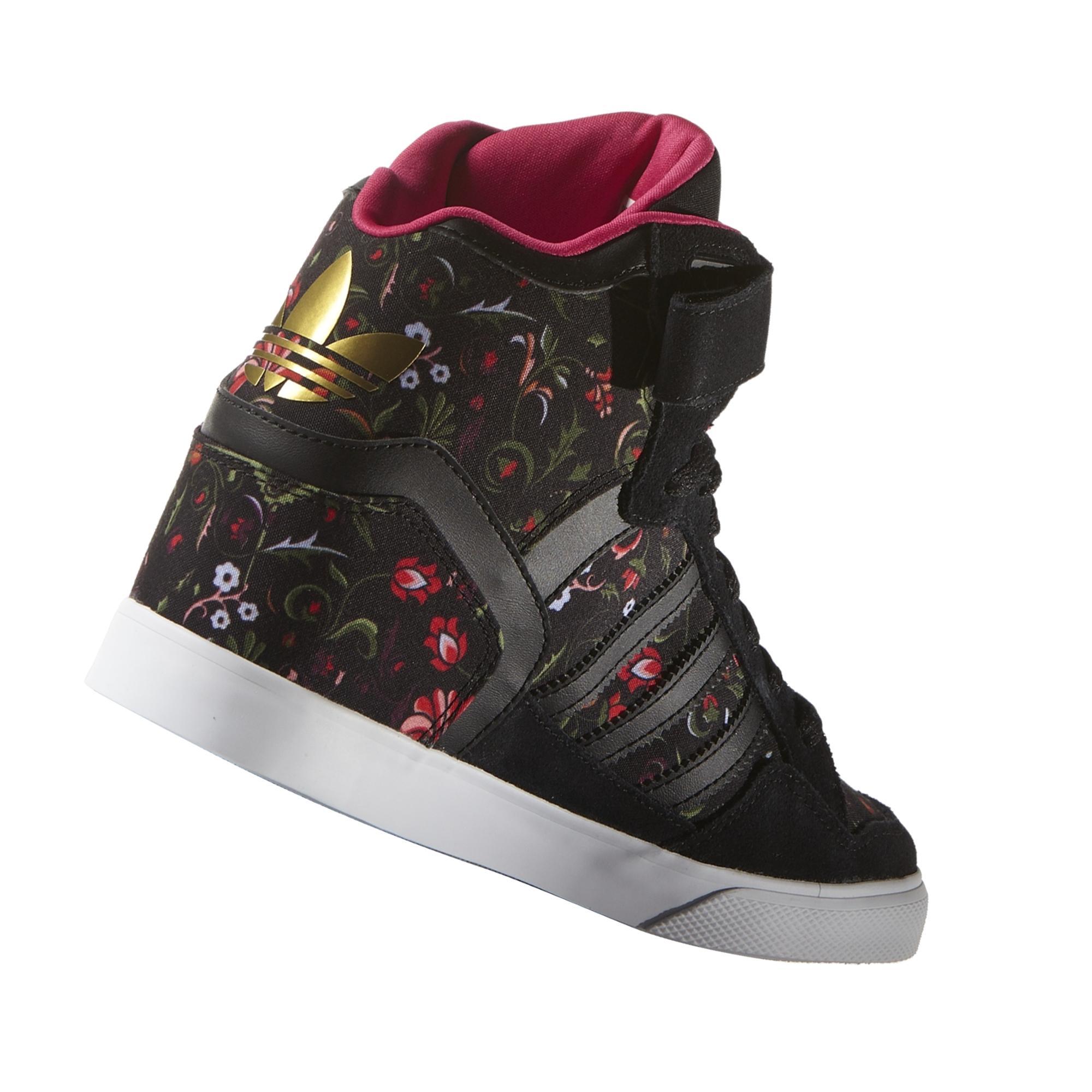 save off ead87 9c00a ... adidas Originals Extaball Up W Navy Pink Women Wedge Casual Shoes  Sneaker BY2330  adidas Extaball Up Kadın Spor Ayakkabı ...