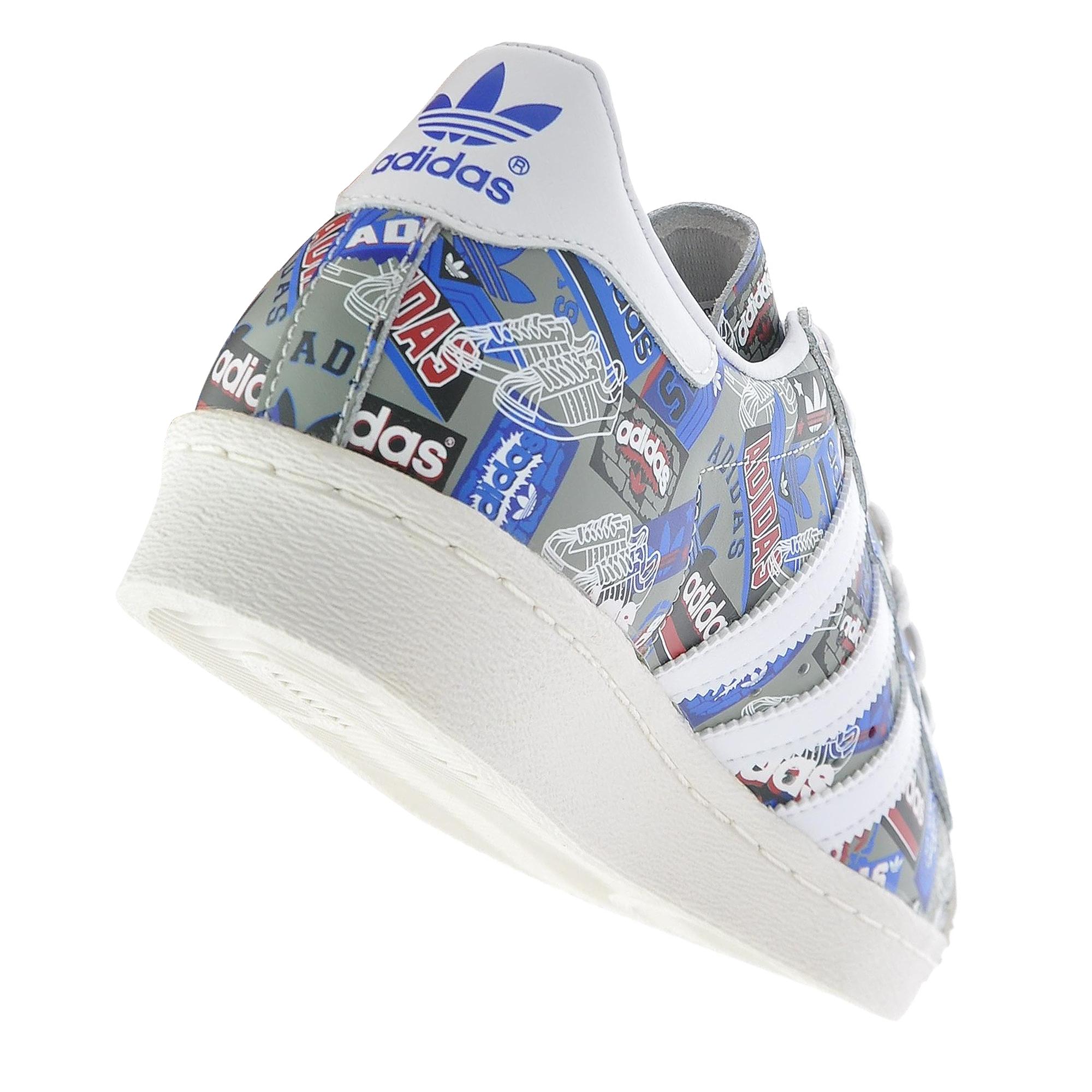 buy popular 04640 3373b adidas Superstar 80s Pioneers Nigo Erkek Spor Ayakkabı