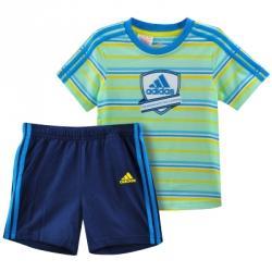 adidas I Jr Boys Set Çocuk Tişört-Şort Takım