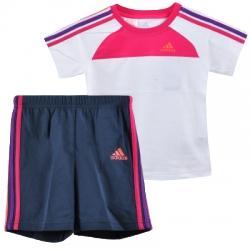 adidas 3S Set Tişört-Şort Çocuk Takım
