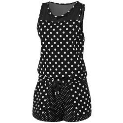Dots Jump Suit Elbise