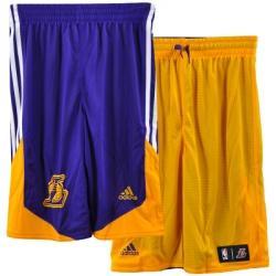 adidas Los Angeles Lakers Çift Taraflı Şort