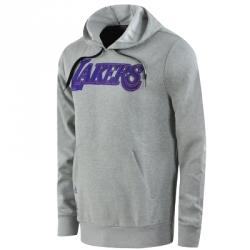 adidas Los Angeles Lakers Po Hoodie Kapüşonlu Sweat Shirt