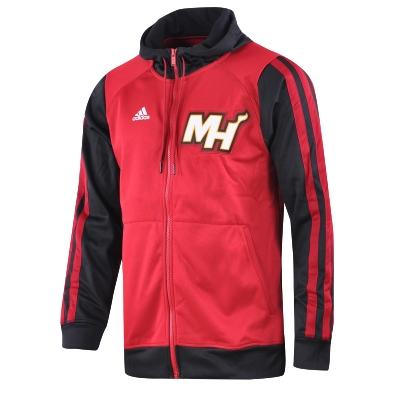 adidas Miami Heat Hoodie Kap    onlu Erkek Ceket - Barcin.com #G76592