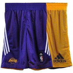 Los Angeles Lakers Çift Taraflı Şort
