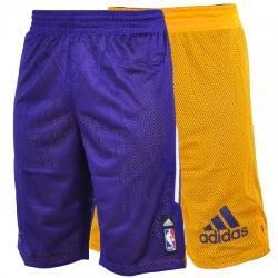 adidas Los Angeles Lakers Çift Taraflı Basketbol Şortu