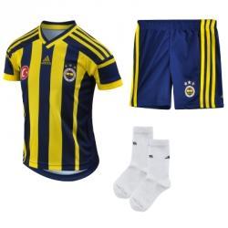adidas Fenerbahçe 2014-2015 Sezonu İç Saha Forma-Şort-Çorap
