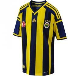 adidas Fenerbahçe 2014-2015 Sezonu Efsane Çubuklu Jr Çocuk Forma