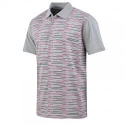 Reebok Striped Polo Yaka Erkek Tişört