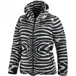 Zebra Kapüşonlu Ceket