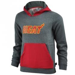 adidas Miami Heat Hoodie Kapüşonlu Çocuk Sweat Shirt