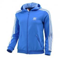 adidas Adicolor Hooded  Kapüşonlu Çocuk Ceket