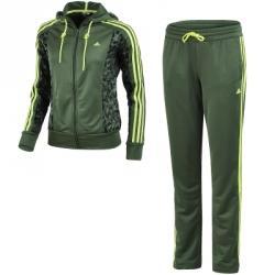 adidas Young Knit Aop Kapüşonlu Eşofman Takımı