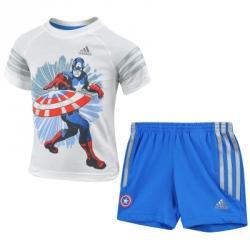 adidas Disney Avengers Captain America Summer Set (Tişört-Şort)