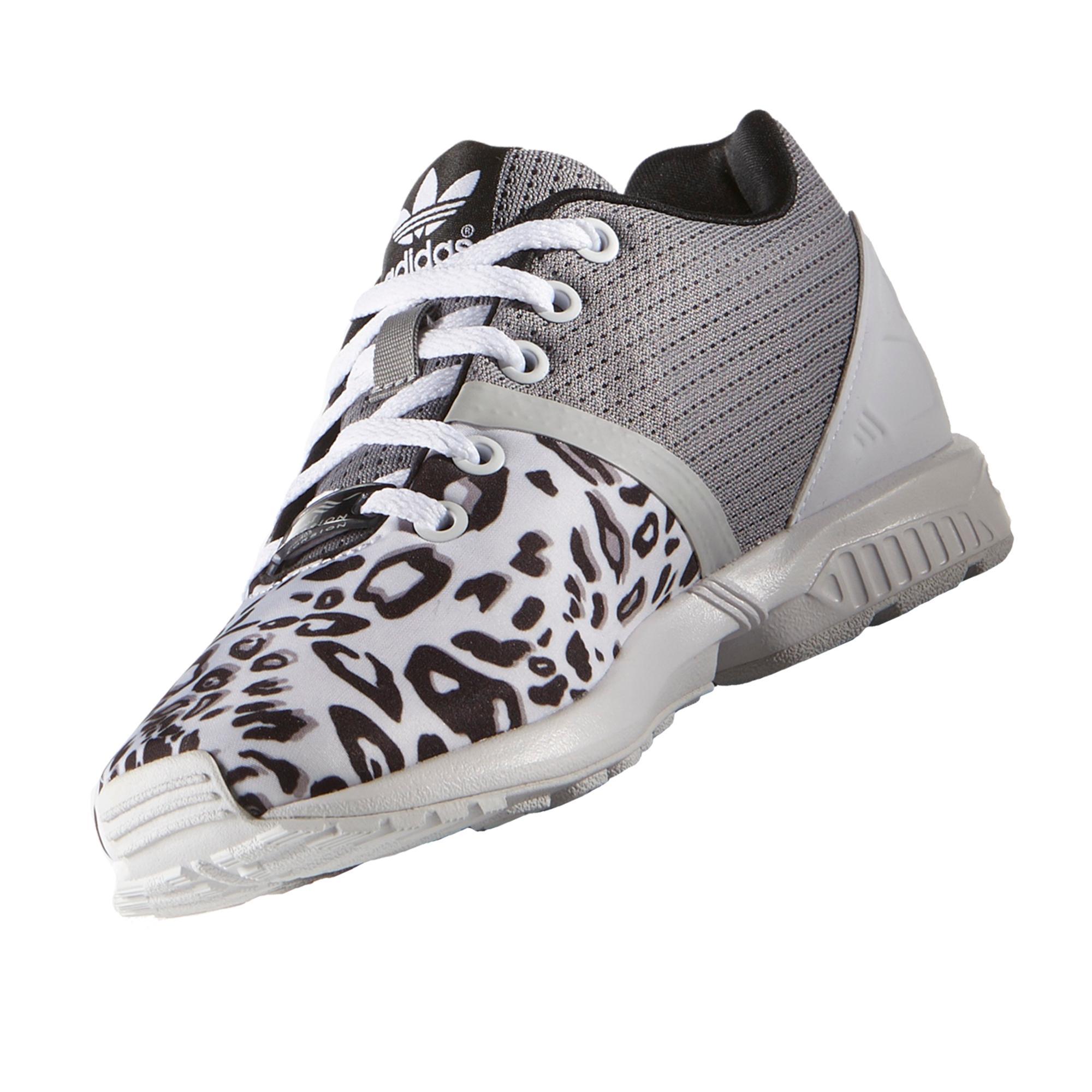 newest 9e707 64571 adidas Zx Flux Split Leopard (Gs) Spor Ayakkabı