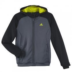 Adidas Youth Boys Climalite Fz Kapüşonlu Çocuk Ceket