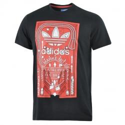 Adidas Graphic Pinball Tee Erkek Tişört