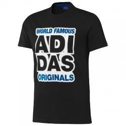adidas Graphic World Tee Erkek Tişört