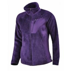 Double Plush Sporty Full Zip Bayan Ceket