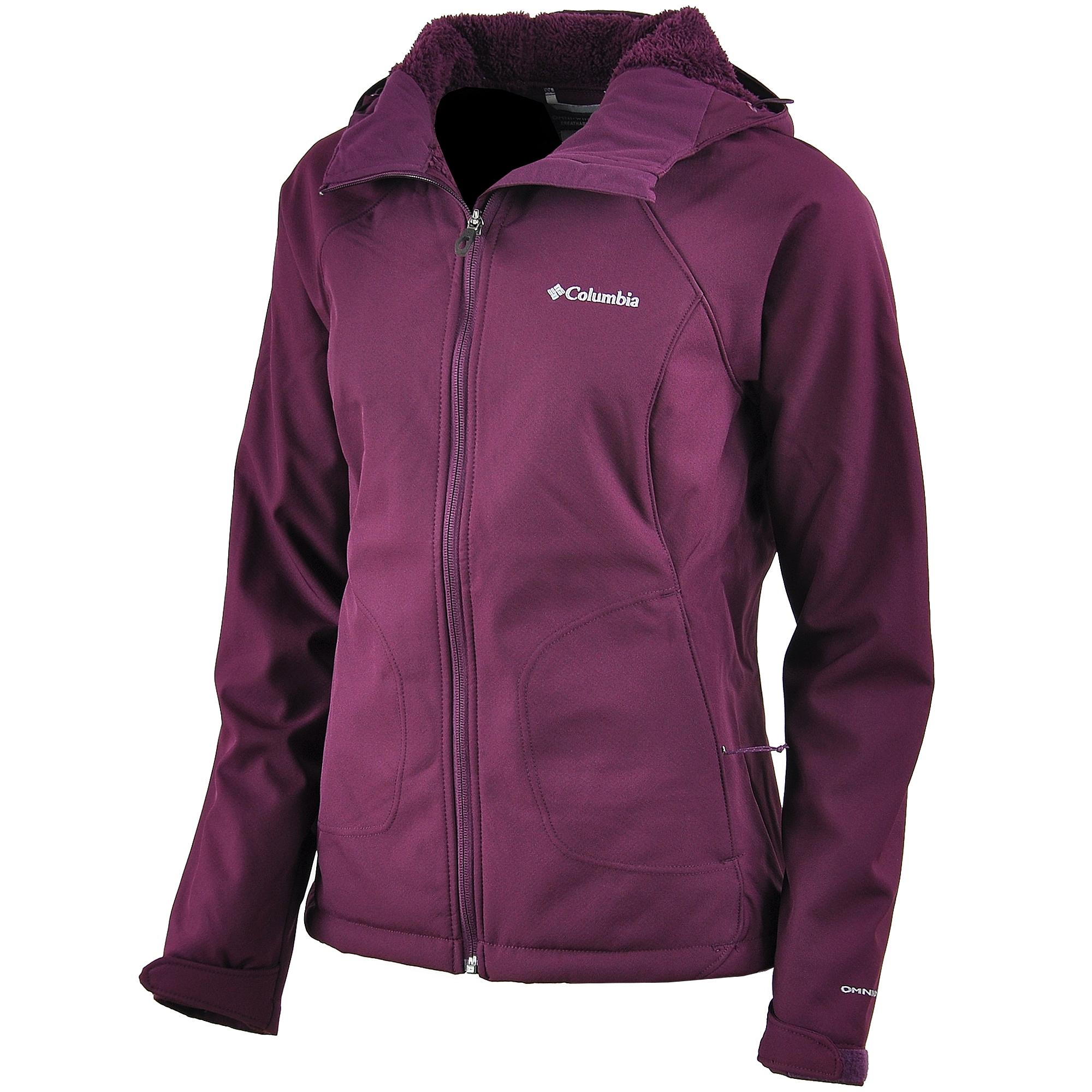 Columbia WL6753 Phurtec II Softshell Kapüşonlu Kadın Ceket ...