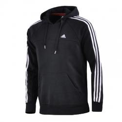 adidas Essentials 3s Hoodie Kapüşonlu Erkek Sweat Shirt