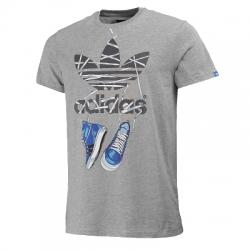 Graphic Trefoil Tee Sneak Erkek Tişört