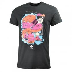 Adidas Graphic Tee Houses Erkek Tişört