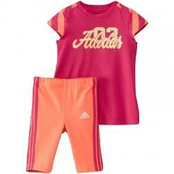 adidas J Graphic Dress Set Tişört-Şort Çocuk Takım