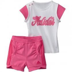 adidas Inf Junior Graphic Sum Set Çocuk Tişört-Şort Takım