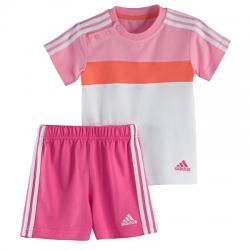 adidas 3S Summer Çocuk Set (Tişört-Şort) Takım