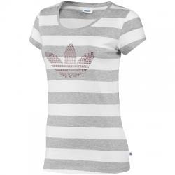 Rs Striped Logo Bayan Tişört